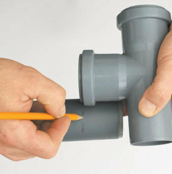 Соединение канализационных труб: пластиковые с чугуном   инженер подскажет как сделать