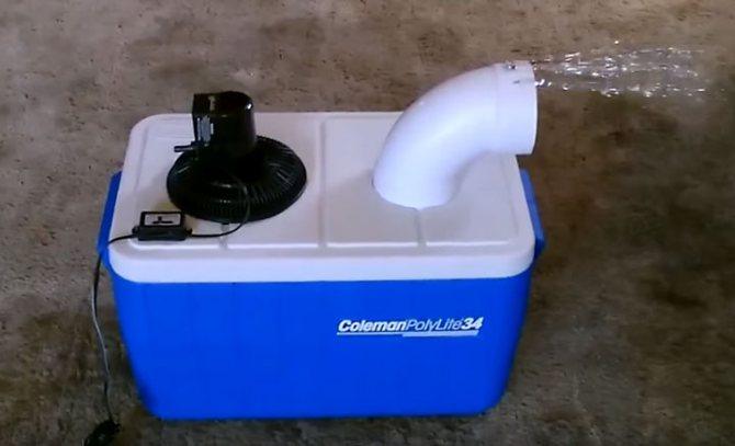 Самодельный кондиционер из холодильника, пластиковых бутылок и вентилятора своими руками