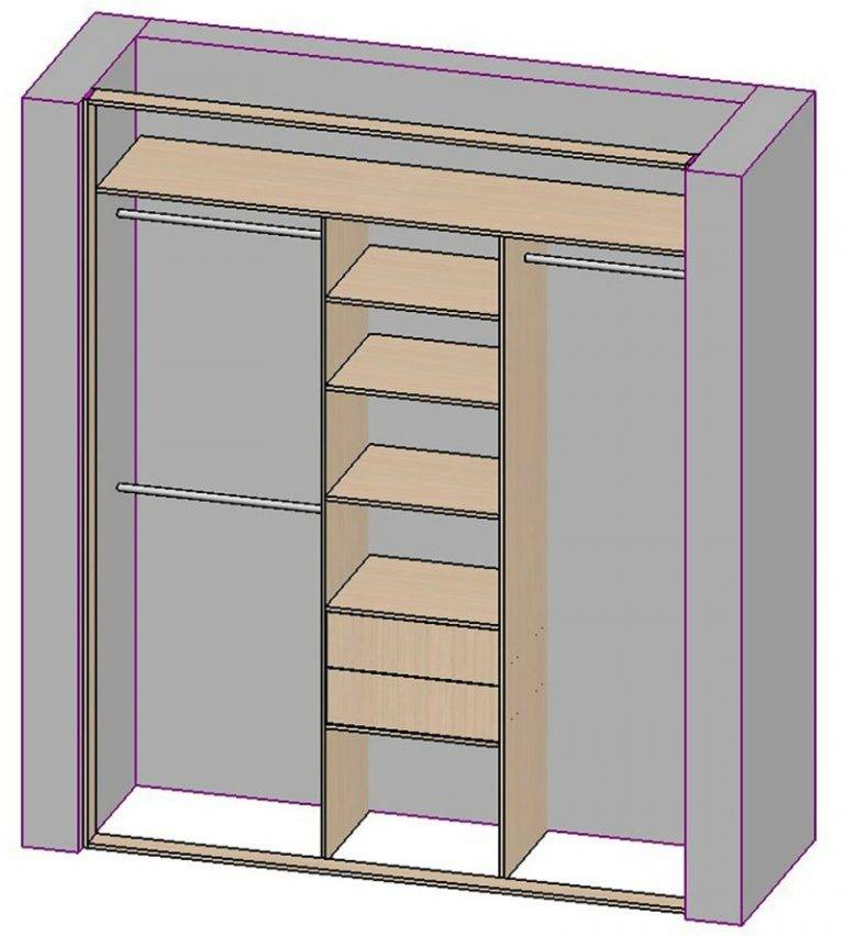 Шкаф своими руками — чертежи, описание, пошаговая инструкция
