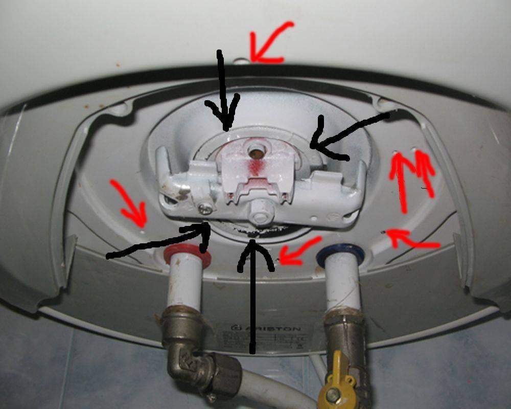 Ремонт водонагревателей: восстановление электрических бойлеров объемом 50 литров своими руками, течет снизу - что делать, почему появились капли воды