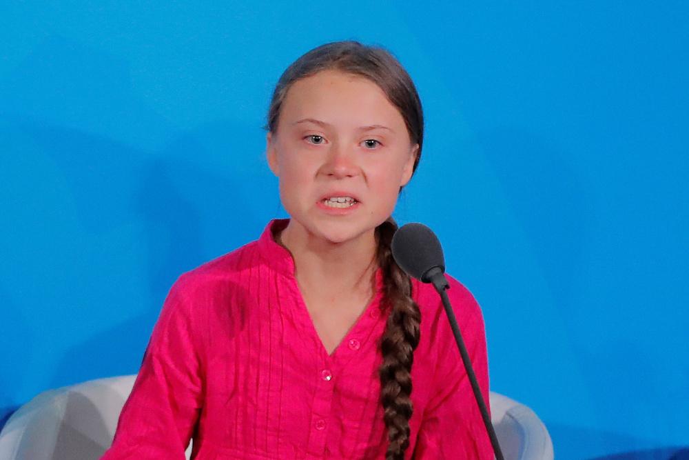 Грета тунберг: какшкольница разнесла политиков вооничтоответил трамп