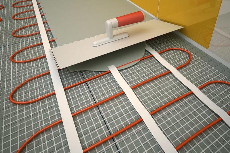 Карбоновый теплый пол: специфика устройства системы и пример монтирования