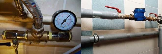 Как правильно измерить давление воды в кране