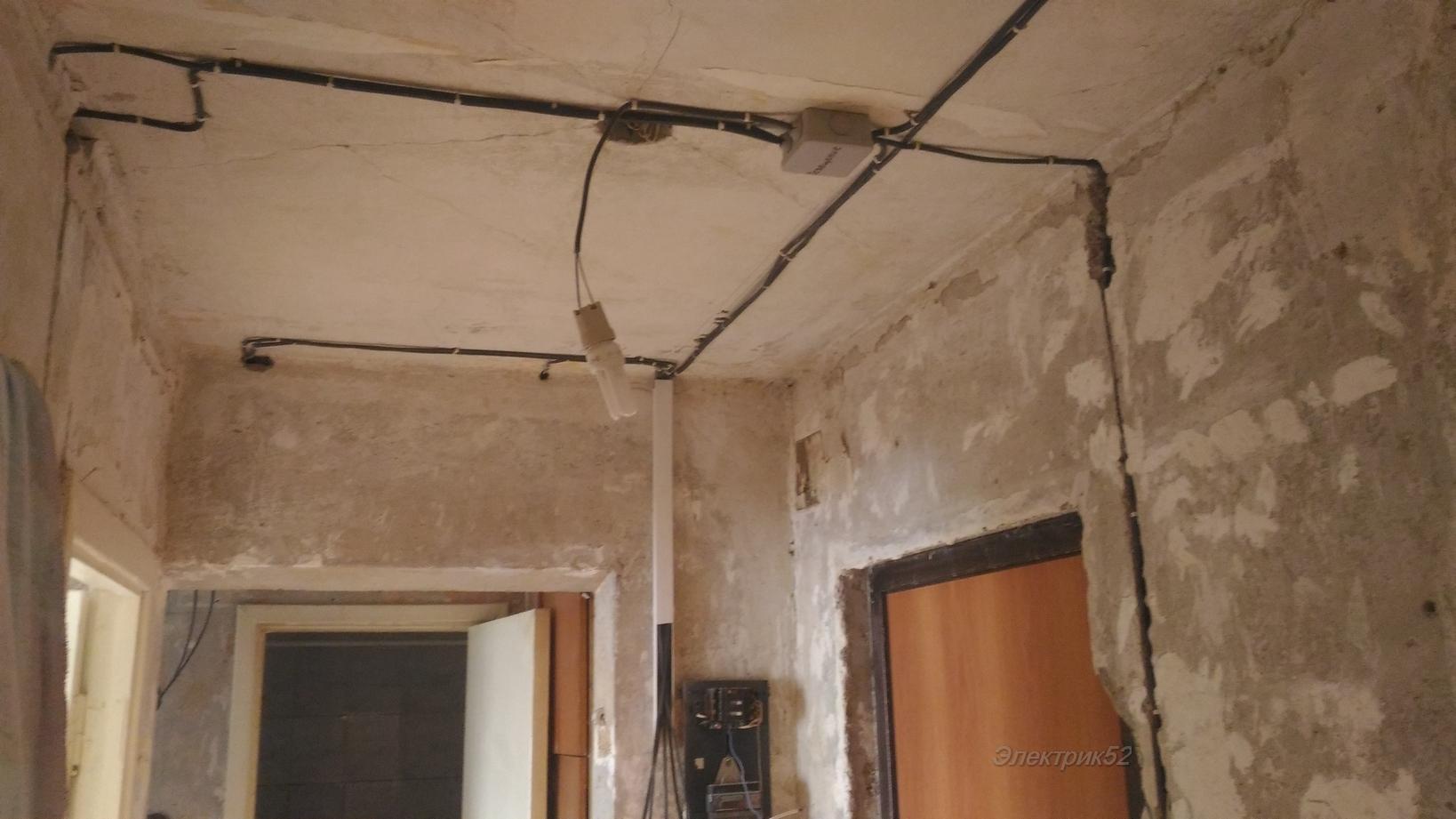 Замена проводки в квартире: двухкомнатная, сроки замены, последовательность действий
