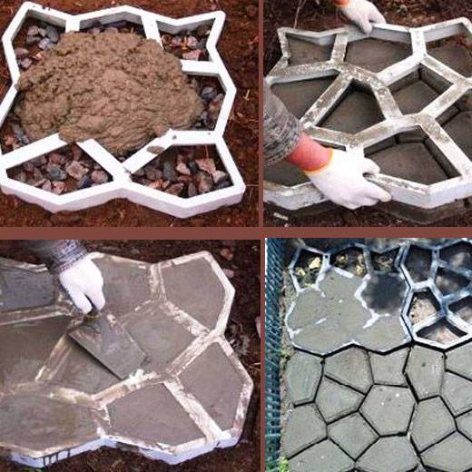 Как своими руками сделать формы для тротуарной плитки