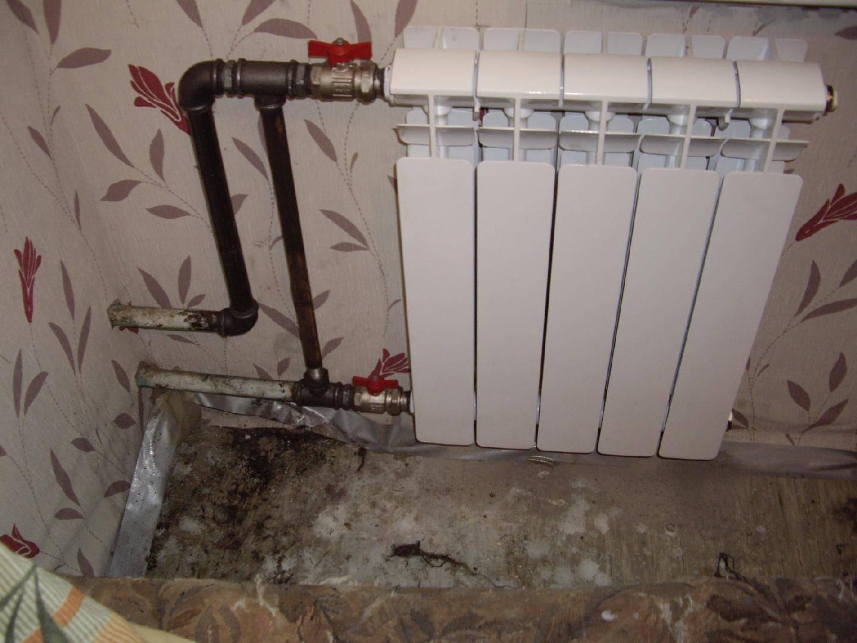Замена батарей отопления в квартире своими руками | строй советы
