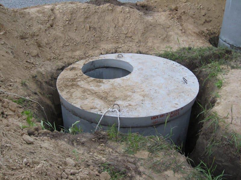 Колодец из бетонных колец своими руками