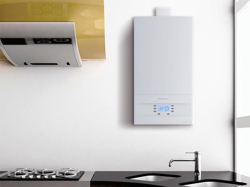 Настенные газовые котлы отопления: навесные виды нагревателей - точка j