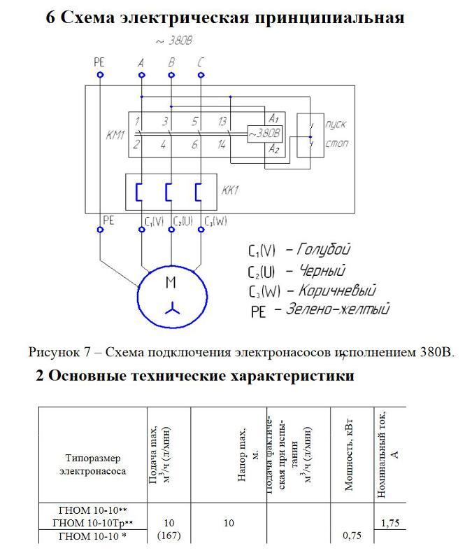 Cхема насоса. схема глубинного и погружного насоса. схема подключения насоса
