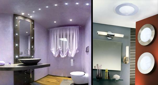 Освещение в ванной комнате: совмещаем безопасность и эстетику