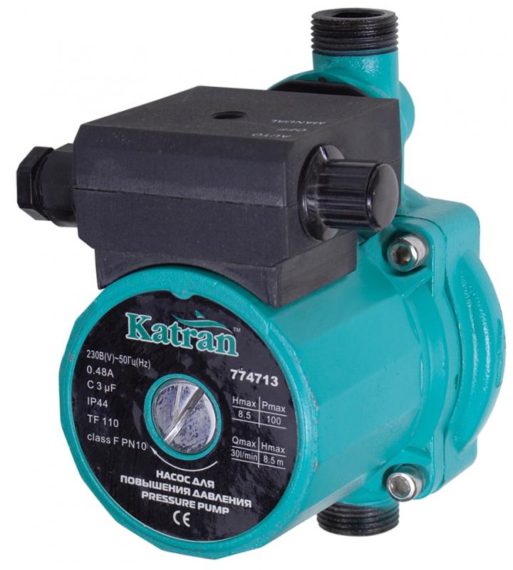 Проточный насос для воды и повышения давления