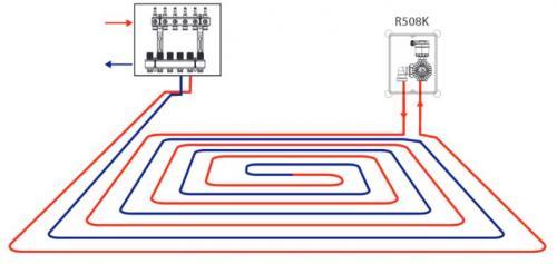 Подключение теплого пола: как правильно подключить, как включить одножильный теплый пол, схема подключения от полотенцесушителя
