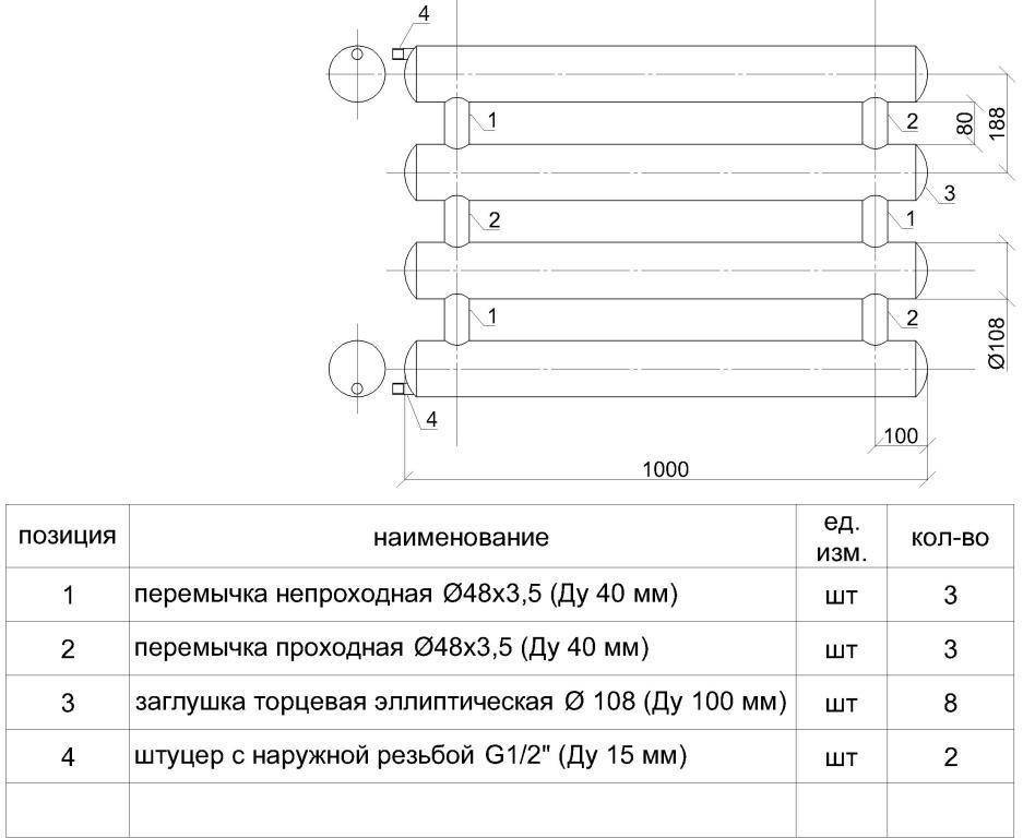Регистры отопления: изготовление, применение, характеристики | гид по отоплению