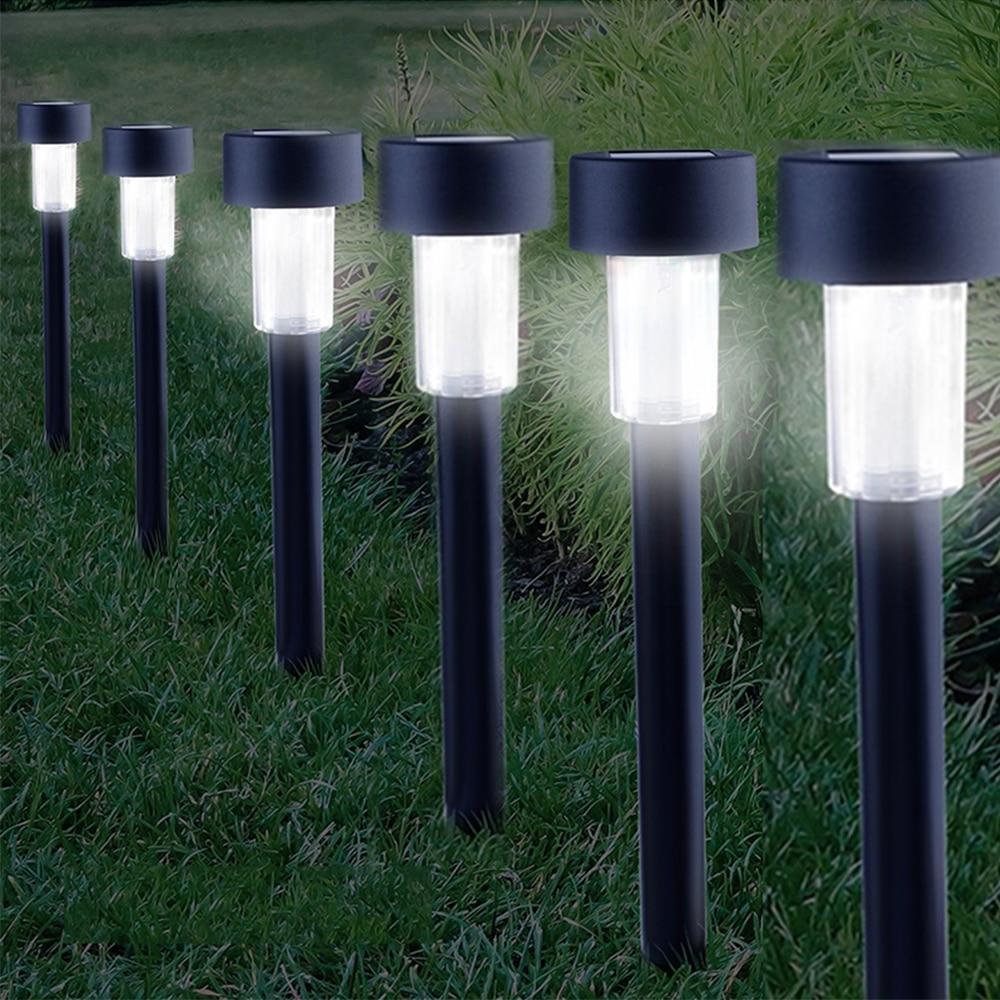 Как выбрать газонные светильники на солнечных батареях - точка j