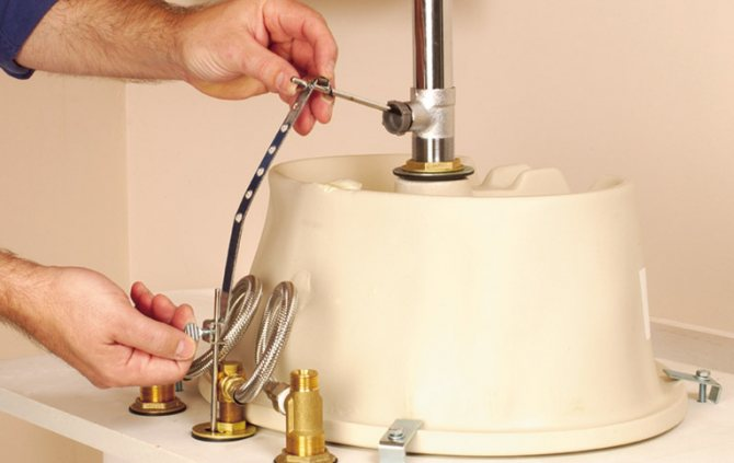 Донный клапан для раковины — видео-инструкция по монтажу своими руками