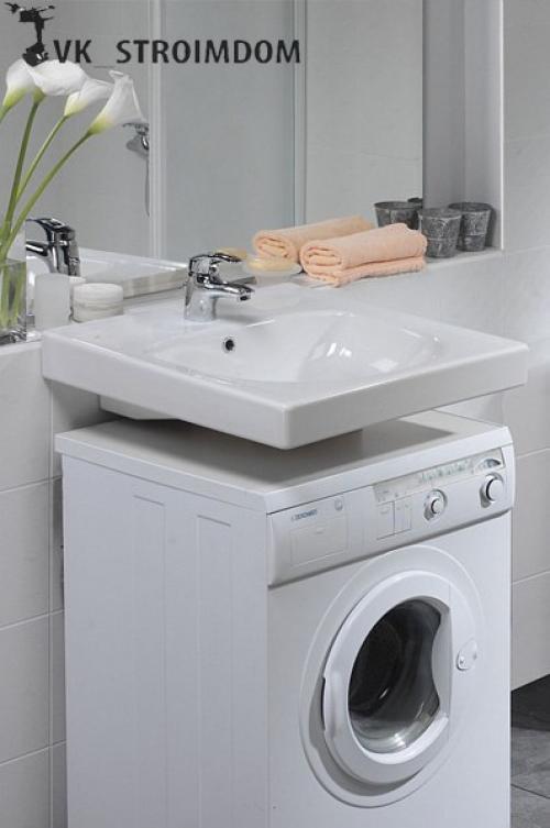 Умывальник над стиральной машиной — плюсы, минусы, нюансы монтажа и ухода (120 фото и видео)
