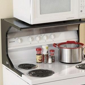 Куда поставить микроволновку в маленькой кухне: варианты размещения, фото » интер-ер.ру
