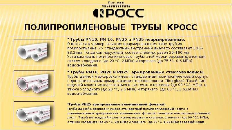 Маркировка труб из полипропилена: подробная расшифровка