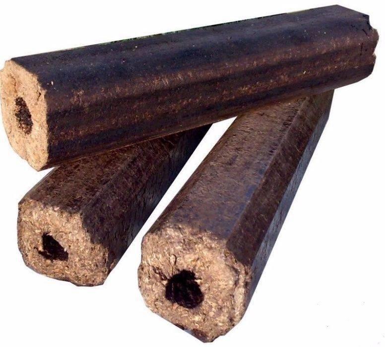 Топливные брикеты или дрова — чем выгоднее топить дом? - дачникам!