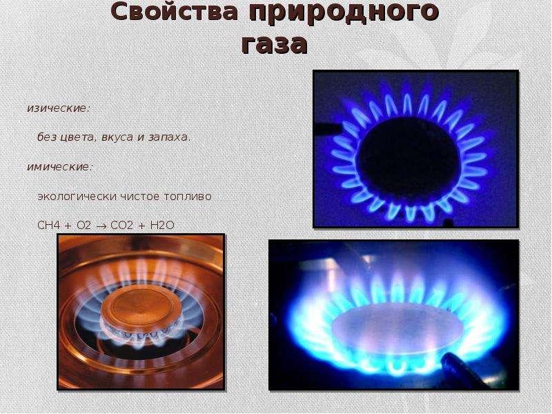 Природный газ   химия онлайн