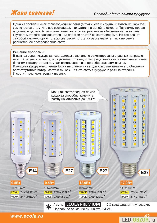 Драйверы для светодиодных ламп. виды, типы какие лучше?