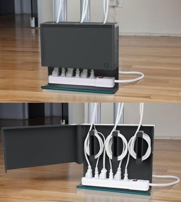 Спрятать провода от компьютера, телевизора, видеорегистратора