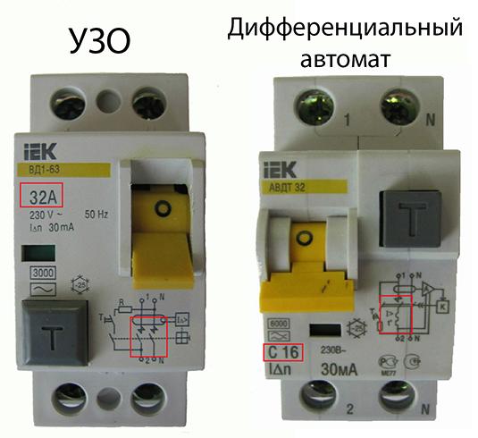 Что лучше установить в щитке: «дифавтомат» или узо?