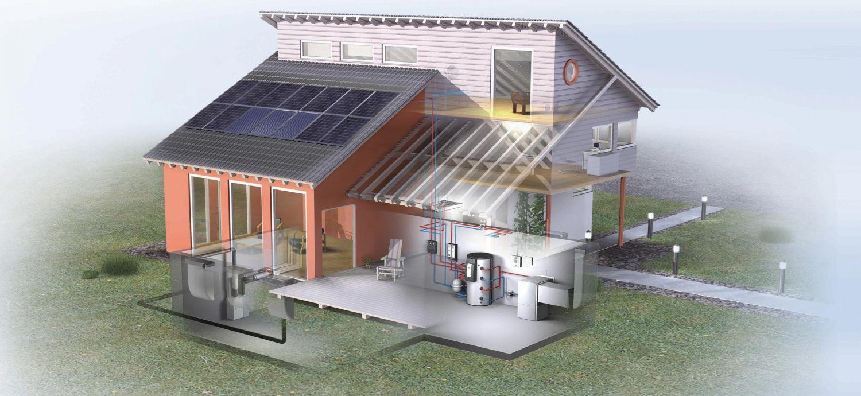 Альтернативное отопление частного дома | грейпей