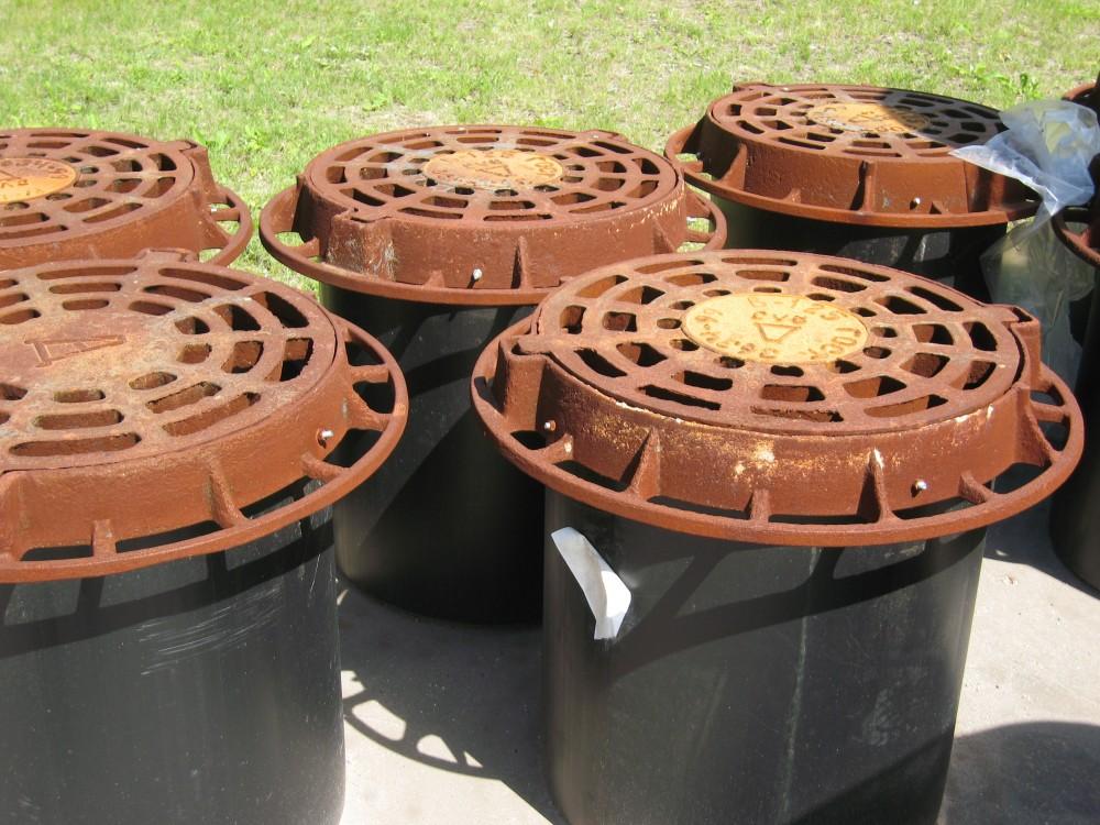 Пластиковые канализационные люки: виды и характеристики, как выбрать