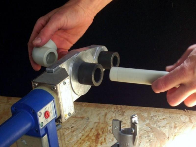 Соединение полипропиленовых труб без сварки