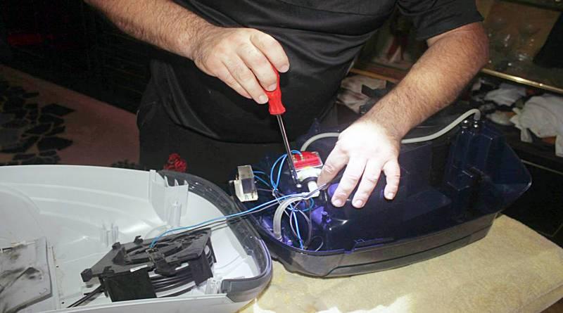Самостоятельный ремонт пылесоса