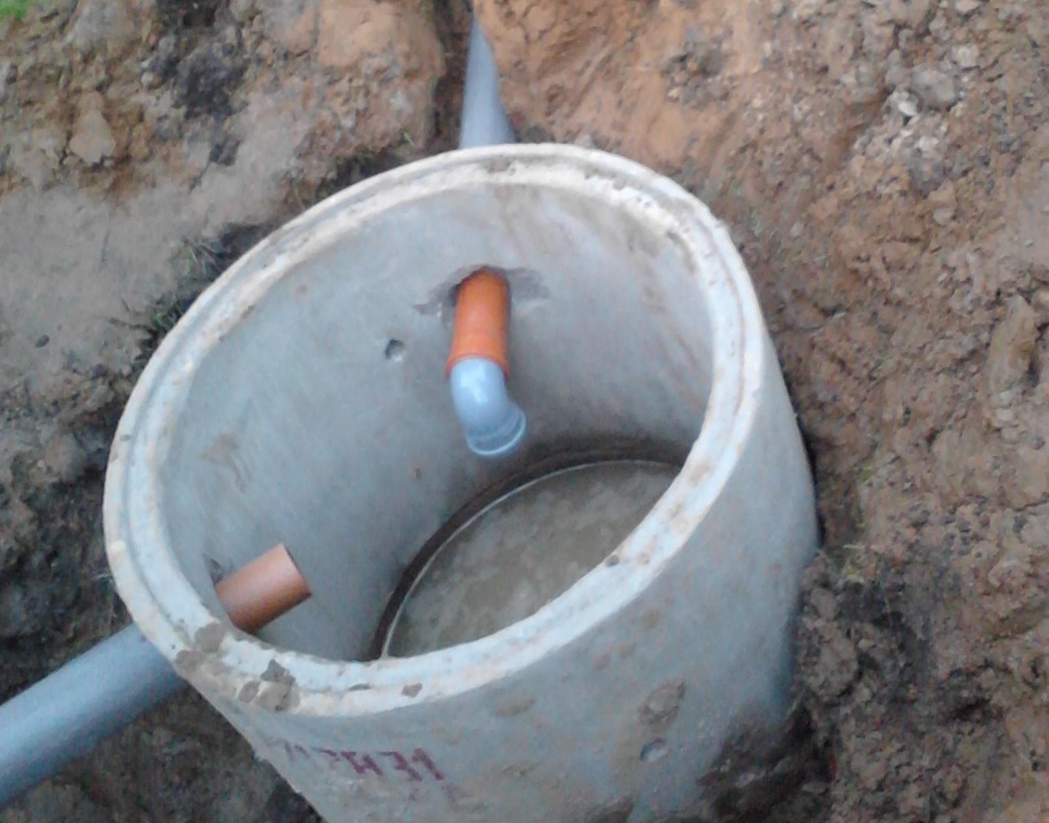 Монтаж колодца из железобетонных колец своими руками на участке