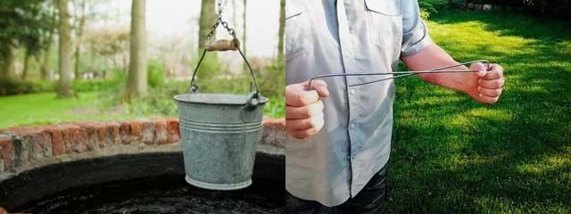 Как искать воду на участке для колодца