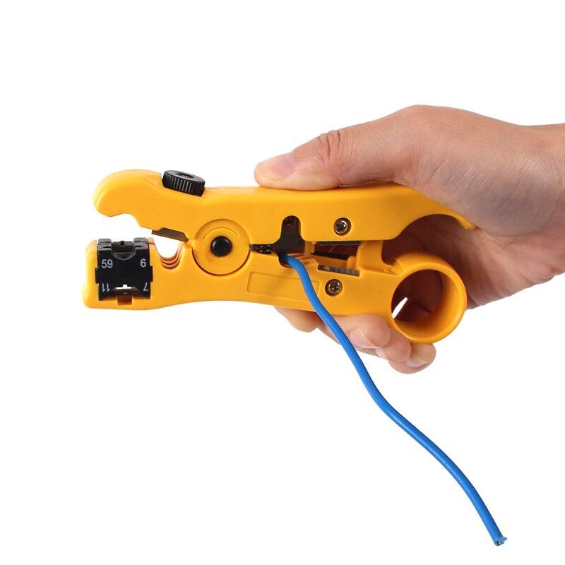 Как и чем снимать изоляцию с проводов различного типа – зачистка провода