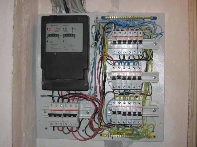 Сборка электрощитка своими руками 220в