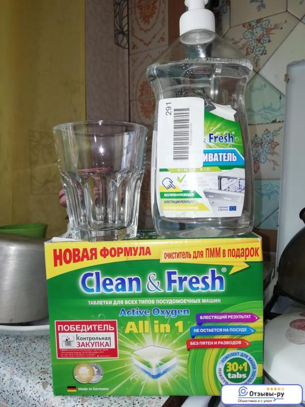 Готовим средство для посудомойки своими руками