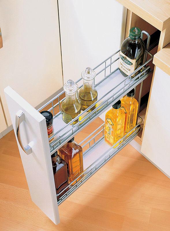 Выдвижные системы для кухни: расставим все по своим местам - сам себе мастер - медиаплатформа миртесен