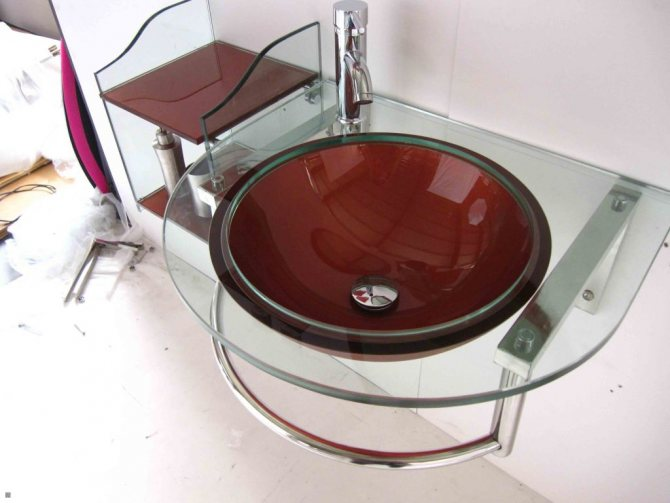 Стеклянные раковины для ванной комнаты: выбор, фото, отзывы, краткий обзор моделей
