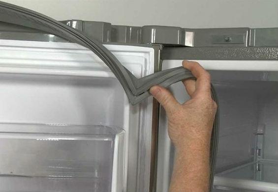 Как восстановить резинку на холодильнике, и что делать, если она не плотно прилегает