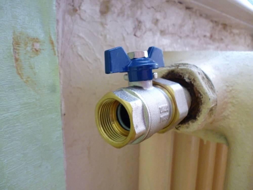Установка кранов на батарею, стоимость замены крана на радиаторе отопления в москве - san-remo77.ru