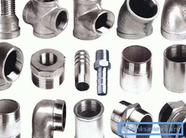 Фитинги стальные: типы, назначение и особенности монтажа