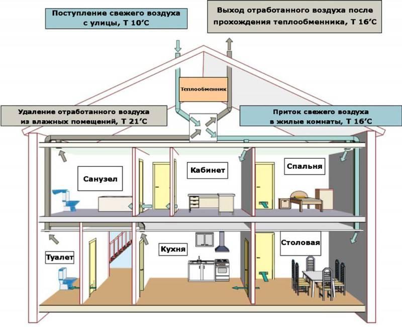 Вентиляция подпола в частном доме: варианты решения и практичные способы реализации