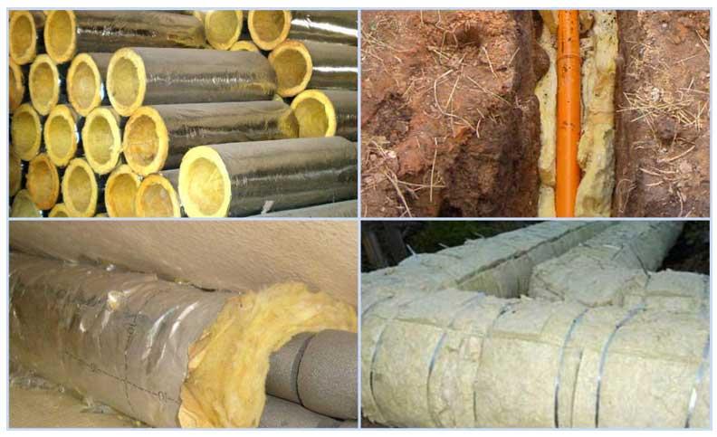 Утеплитель для труб канализации: виды, правила выбора и обзор технологии укладки