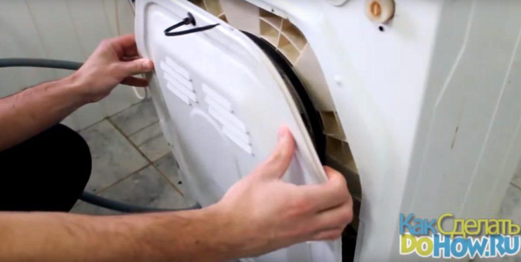Как заменить подшипник в стиральной машине indesit?