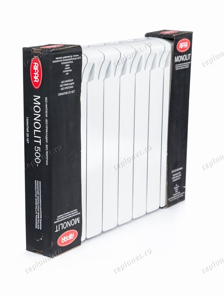 Радиаторы отопления: рифар-монолит, цена, отзывы