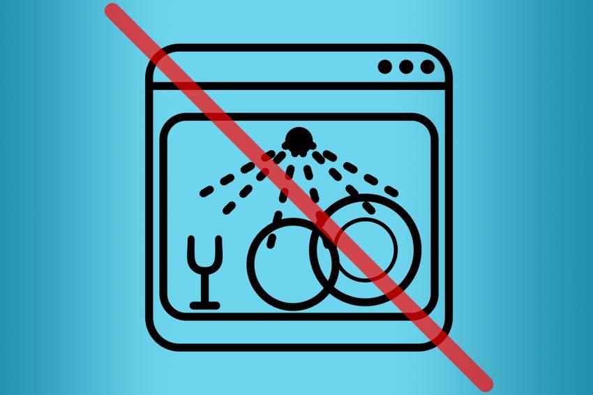Что нельзя мыть в посудомоечной машине: советы
