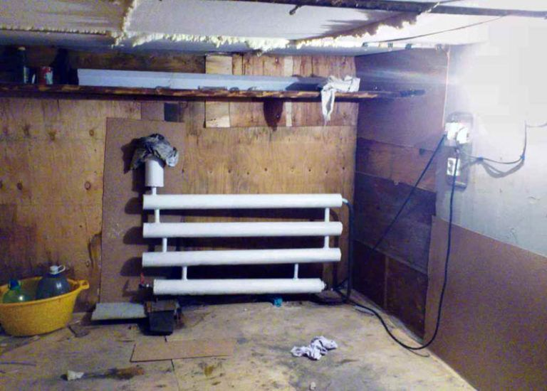 Выбираем самый экономный способ отопления гаража зимой