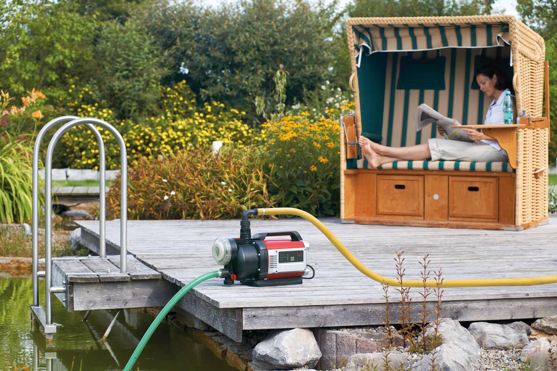 Как выбрать и  установить насос для пруда