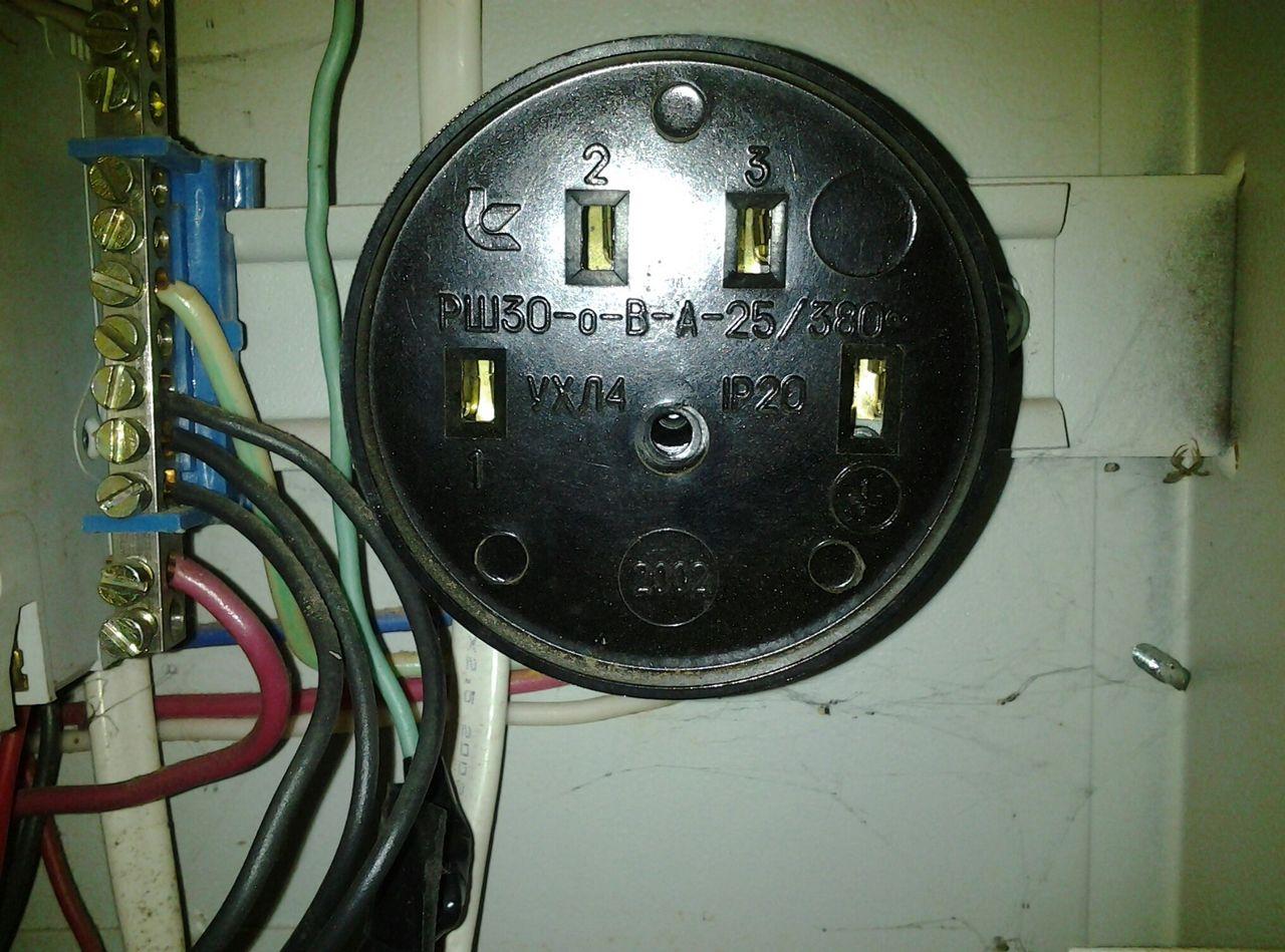 Розетка для электроплиты - как правильно выбрать и подключить