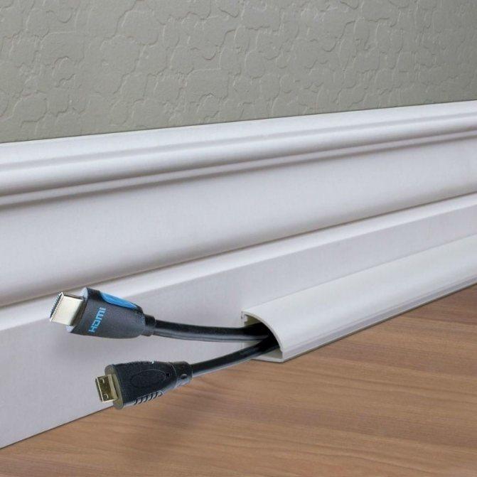 Как спрятать провода? – на стене, потолке и под полом
